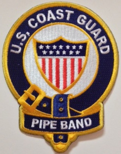 USCG Pipe Band Patch